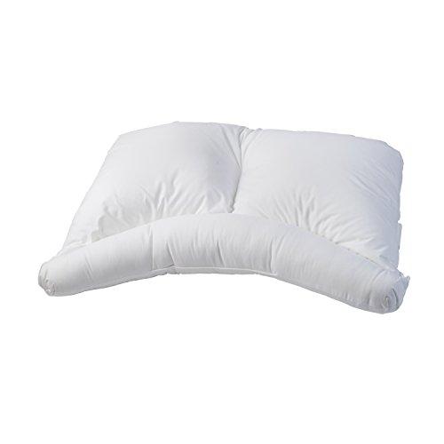 Healthsmart Side Sleeper Pillow Curved Center Lobe Side