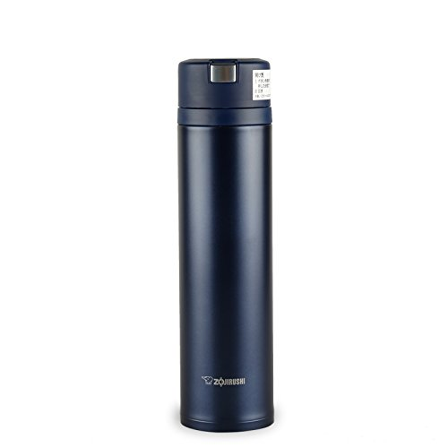 ZOJIRUSHI new idea Quick & Easy open lock stainless steel mug [600ml] Midnight Blue SM-XA60-AT (japan import)