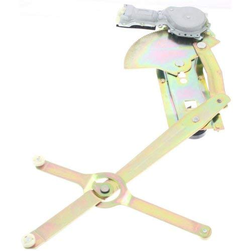(Front Window Regulator Compatible with CHEVROLET SUBURBAN 1982-1991 LH Power with Motor )