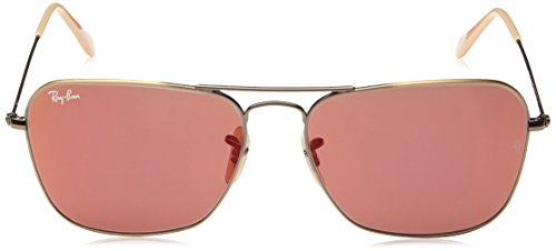 Demiglos Sonnenbrille Bronze CARAVAN Ray Red Or Brushed 3136 RB Ban x76xZUqwY