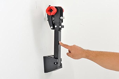 UNISKY Foldable Wall Mount Bike Repair Stand,Bicycle Mechanic Maintenance Rack Workstand by UNISKY (Image #4)