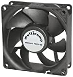 MULTICOMP MC32895 AXIAL FAN, 80MM, 24VDC, 73mA (100 pieces)