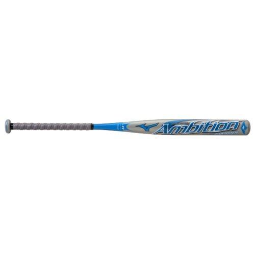 Mizuno Ambition Fast Pitch Bat ( 11 ) B00MFVK5N4グレー/ブルー 31-Inch