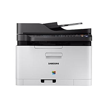Samsung Xpress SL-C480FW/XAA Wireless Multi-function Color Laser Printer, Amazon Dash Replenishment Enabled