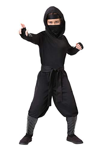 Child Stealth Shinobi Ninja Costume Large