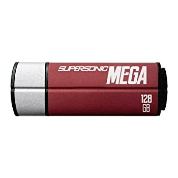 Patriot 128GB Supersonic Mega USB 3.1/USB 3.0 Flash Drive With Up To Read 380MB/sec & Write 70MB/sec- PEF128GSMGUSB