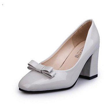 synthétique Blanc cm ggx Talons Rose Chaussures LvYuan Noir microfibre PU de Confort 7 5 à Confort Décontracté à Polyuréthane Automne black 9 5 Femme 6wqpnpz