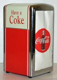 Coca-cola Napkin Dispenser
