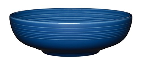 China Large Bowl - Fiesta 68 oz Bistro Serving Bowl, Large, Lapis