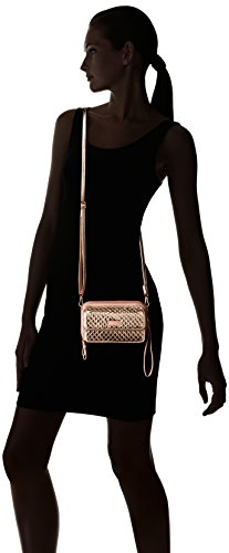 Vera Bradley Iconic Rfid All in One Crossbody, Foiled Cotton, Rose Gold Shimmer by Vera Bradley (Image #5)