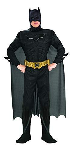 Rubie's Costume Co Batman The Dark Knight Rises Adult Batman Costume, Black, - Batman Dark Costume Accessories Knight