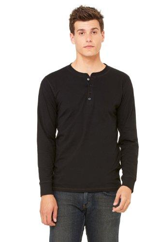 Canvas - Camiseta de manga larga - para hombre negro