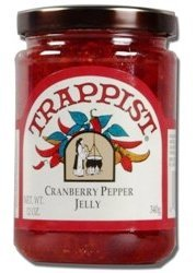 (Trappist Cranberry Pepper Jelly - All Natural 12 oz. )