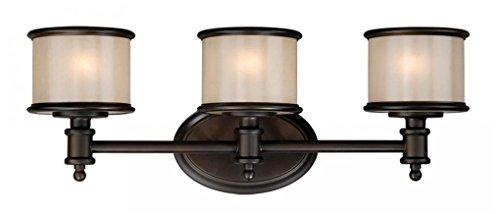80%OFF Elk Lighting 11592/3 Bristol Collection 3 Bath Light, Oil Rubbed Bronze