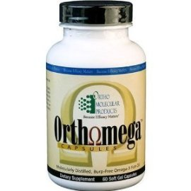 Ortho Molecular Products - Orthomega Fish Oil - 180 Softgel Capsules by Ortho Molecular