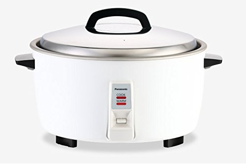Panasonic SR-GA321H 17 Cup Commercial Automatic Rice Cooker with Keep Warm mode, White