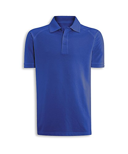 Alexandra stc-nm168ro-l Portwest Herren Polo Shirt, Uni, 60% Baumwolle/40% Polyester, Größe: L, Royal