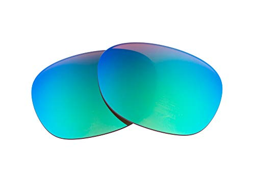 (LenzFlip Replacement Lenses Compatible with Ray-Ban RB2132 55mm - Sleek Green)