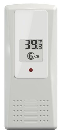 Ambient Weather F007T 8-Channel Wireless Thermometer for WS-07, WS-08, WS-09, WS-10 Weather Stations