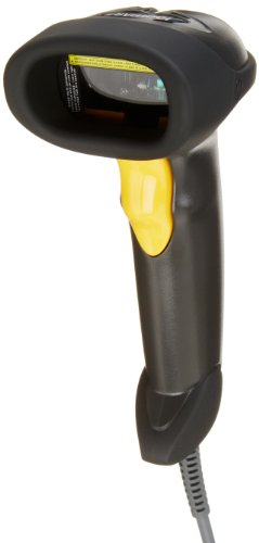 Symbol LS2208 General Purpose Handheld 1D Bi-Directional Laser Barcode Scanner, Black