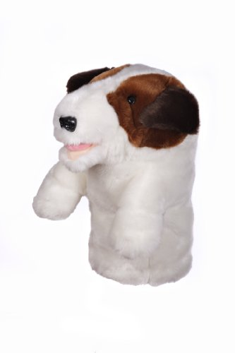 Jack Russell Terrier Clubs - Oversized Jack Russell Terrier Golf Head Cover