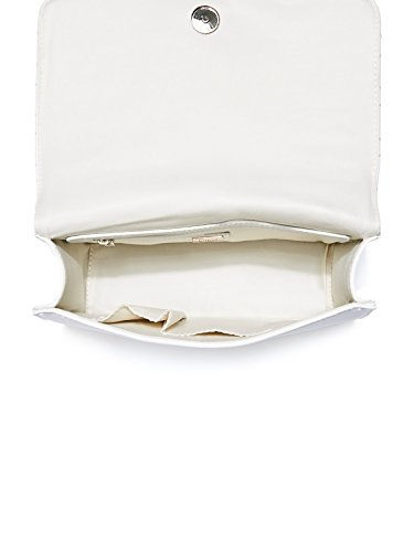 Crossbody Factory Charm Women's Sashaa GUESS White qHZ6nPwZR