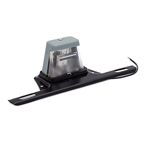 Lumitronics License Plate Lamp Light with Bracket for Trailers, Boats, Cars, Trucks, RV, and - Light Holder License Plate