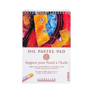 Sennelier 9-1/2″x12-1/2″ Oil Pastel Pad