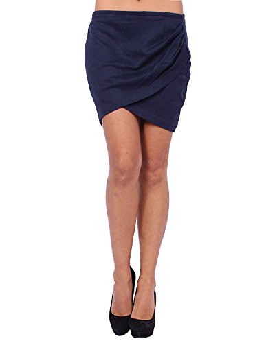 Price comparison product image ANTA Q'ULQI - Pima cotton Jersey Skirt SIMPLE - blue,  S