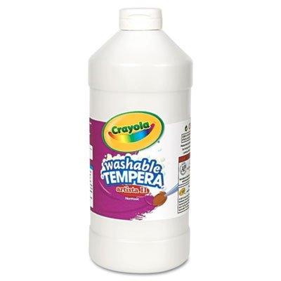 Paint,tmpra,wsh,32 oz,wh (White Paint Tempera)