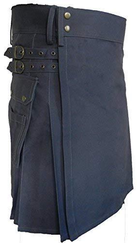 Men's Fashion Snap-on Kilt, Standard Utility Kilt, Traditional Scottish Dress -
