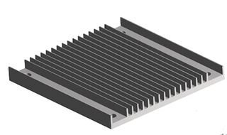 AAVID THERMALLOY 241204B92200G HEAT SINK 5 pieces