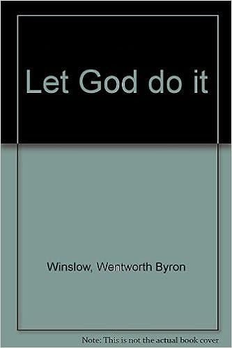 let god do it