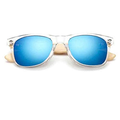 Used, NEW Retro Bamboo Sunglasses Women Men Mirrored Wooden for sale  Delivered anywhere in Canada