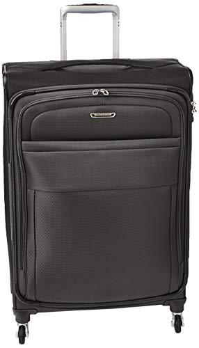 Samsonite Eco Lite Spinner Unisex Medium Black Polyethylene Luggage Bag TSA Approved 112331-1548