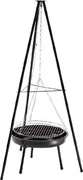 Landmann Classic - Barbacoa balancín con tres patas (parrilla: 50 cm)