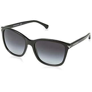 Emporio Armani Unisex Sonnenbrille, Schwarz (Black 50178G), Large (Herstellergröße: 56) 1