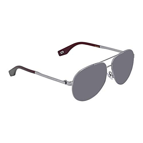 Marc305s Polarized Aviator Sunglasses, Ruthenium, 61 mm ()