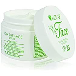 Aloe Up Sun & Skin Care Products White Collection For The Face SPF 25