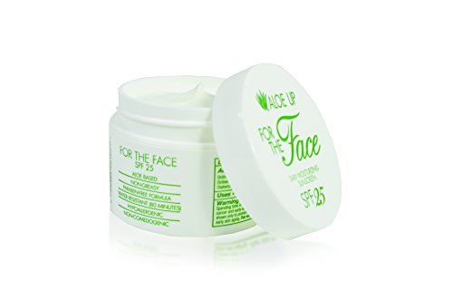 Price comparison product image Aloe Up Sun & Skin Care Products White Collection For The Face SPF 25