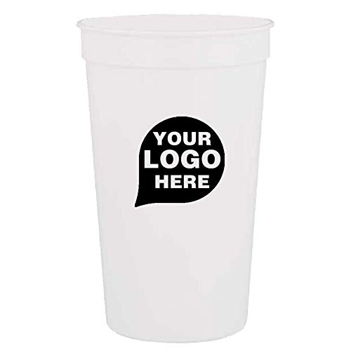 CloseoutPromo Touchdown - 22 oz. Stadium Cup - 500 Quantity - $0.60 Each - Promotional Product/Bulk with Your Logo/Customized