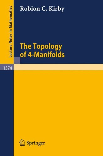 The Topology of 4-Manifolds (Lecture Notes in Mathematics)