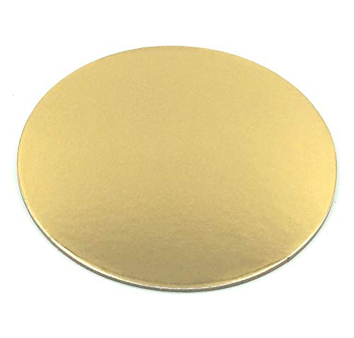 10 pcs., cake board, diameter 30 cm cake drum 3 mm coated cake plate cake plate cakeboard cake stand cookie cutter fondant gold round. Sugar and Cakes