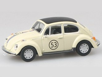 VW Beetle Number 53 `Herbie` Diecast Model Car from The Love Bug