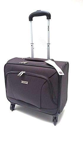 Clacson Trolley Piloto 4 ruedas bocina Porta Pc 15 6 equipaje de mano Trolley idoneo