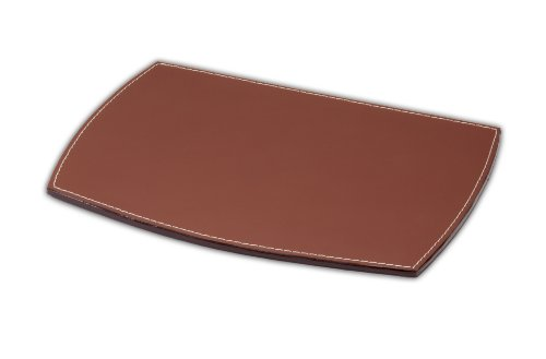 Dacasso Rustic Leather - Dacasso Leather Mouse Pad, Rustic Brown