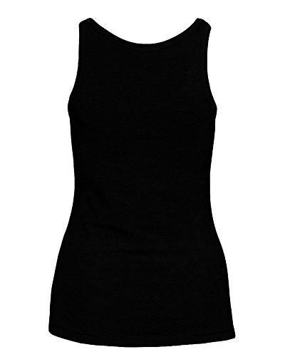 Duke78 Stylewear - Camiseta sin mangas - Sin mangas - para mujer negro