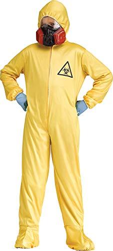 SALES4YA Boys Hazmat Suit Kids Costume Medium 8-10 Boys Costume]()