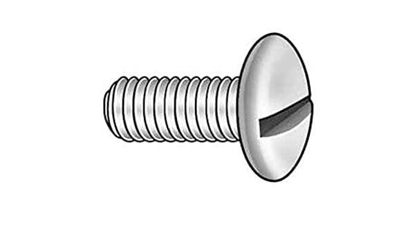 "2-56 x 7//16"" Machine Screw Slotted Pan Head 18-8 Stainless Steel PKG of 100"