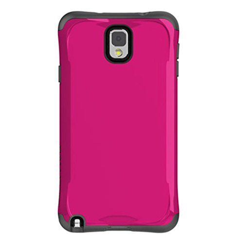 - Ballistic Aspira Carrying Case for Samsung Galaxy Note 3 - Retail Packaging - Pink/Gray